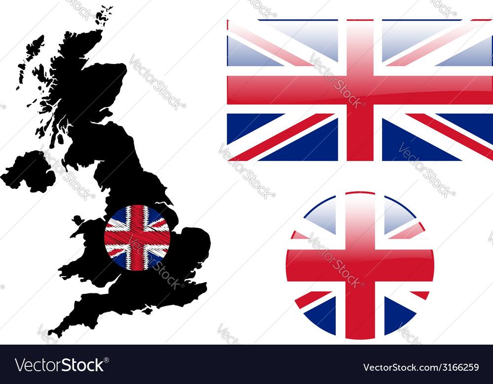 Great Britain vector image