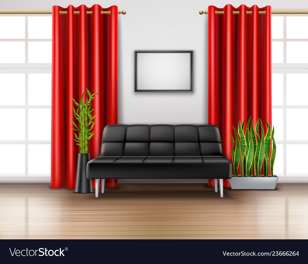 Astounding Luxury Red Curtains Realistic Interior Camellatalisay Diy Chair Ideas Camellatalisaycom