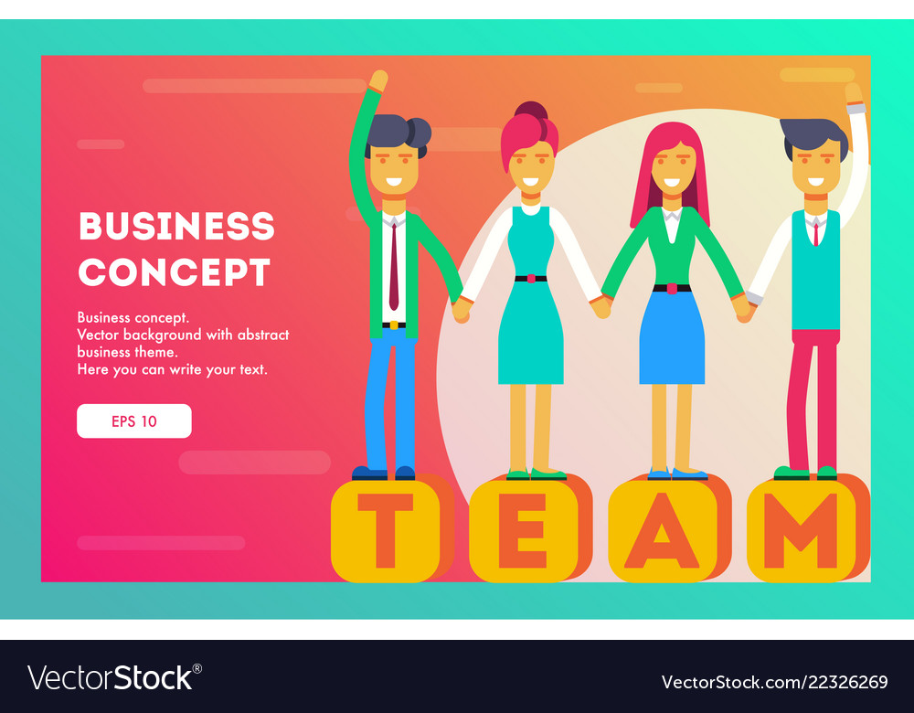 Business concept business team