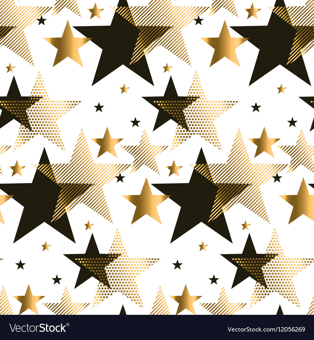 Seamless dots modern luxury pattern geometry vector image