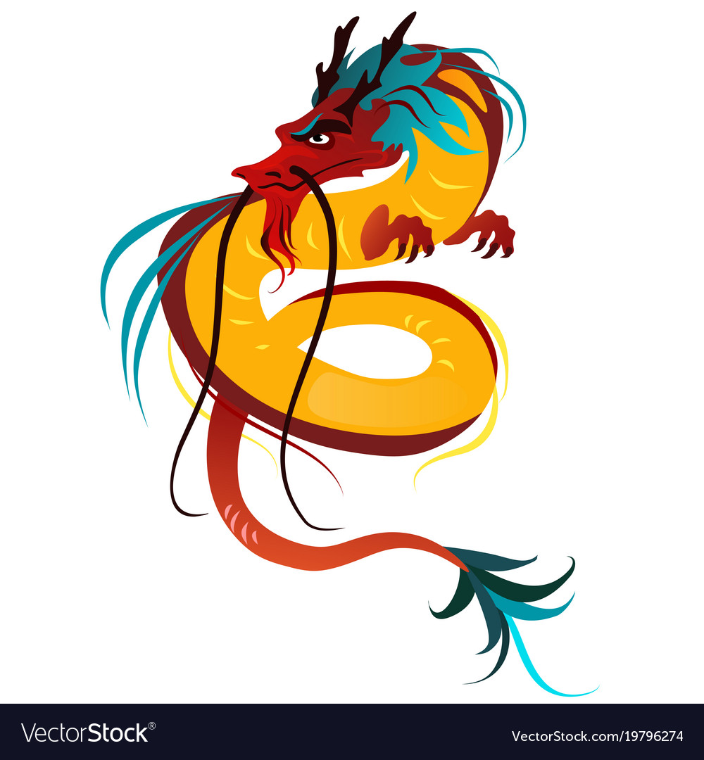 Traditional chinese dragon ancient symbol of