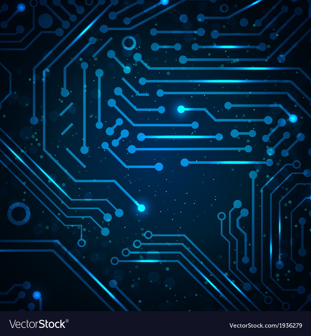 Technology background with circuit board elements