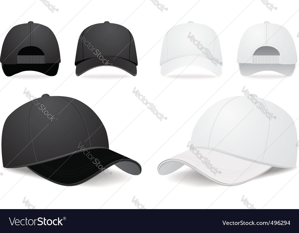 baseball cap royalty free vector image vectorstock rh vectorstock com cap vector illustration cap vector download