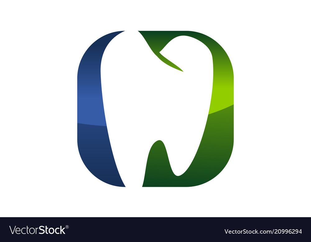 Dental care logo modern