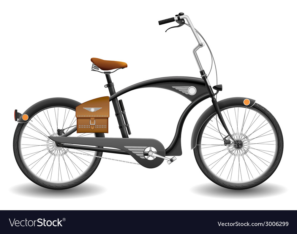 Bicycle chopper Royalty Free Vector Image - VectorStock