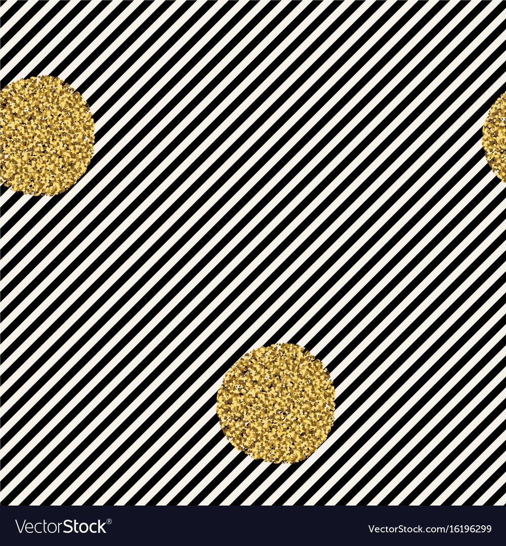 Diagonal black lines on white background golden