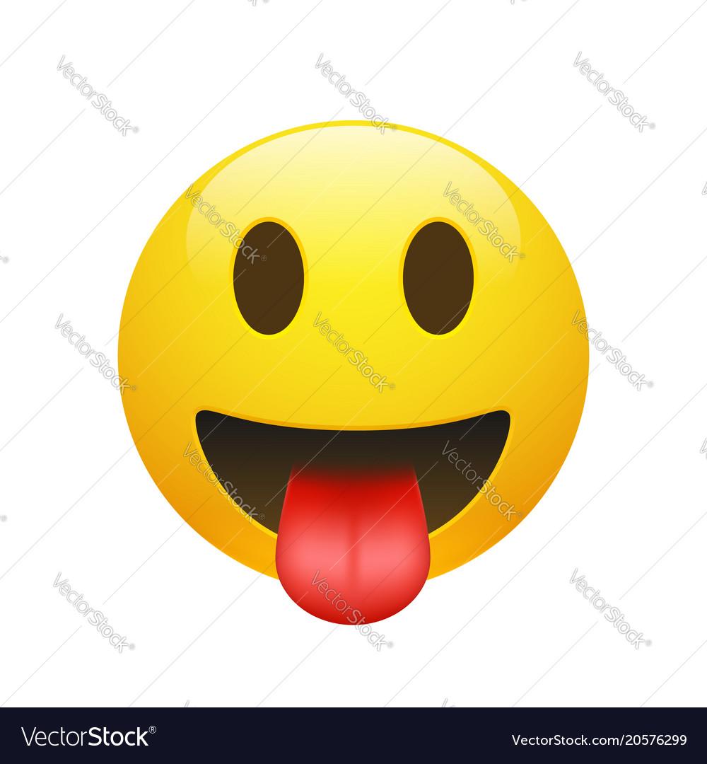Emoji yellow smiley face