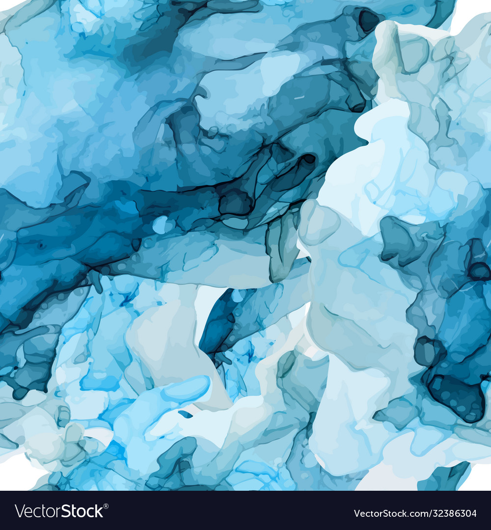 Alcohol ink seamless pattern hand drawn texture