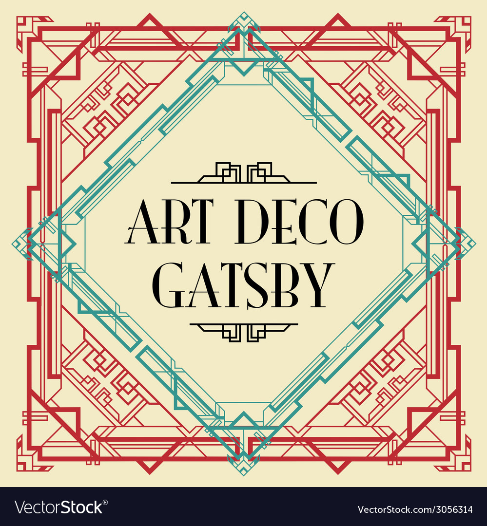 Art deco gatsby wedding invite royalty free vector image art deco gatsby wedding invite vector image stopboris
