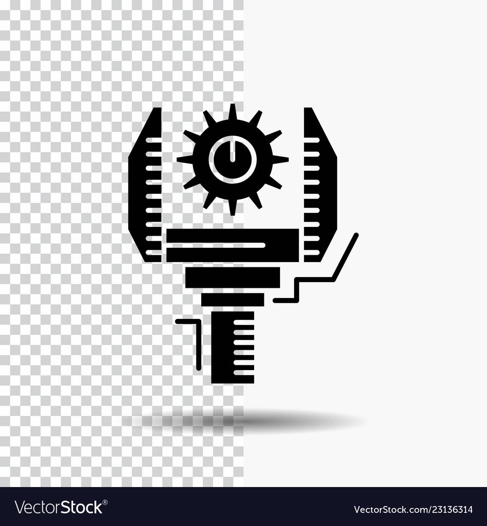 Automation Industry Machine Production Robotics Vector Image