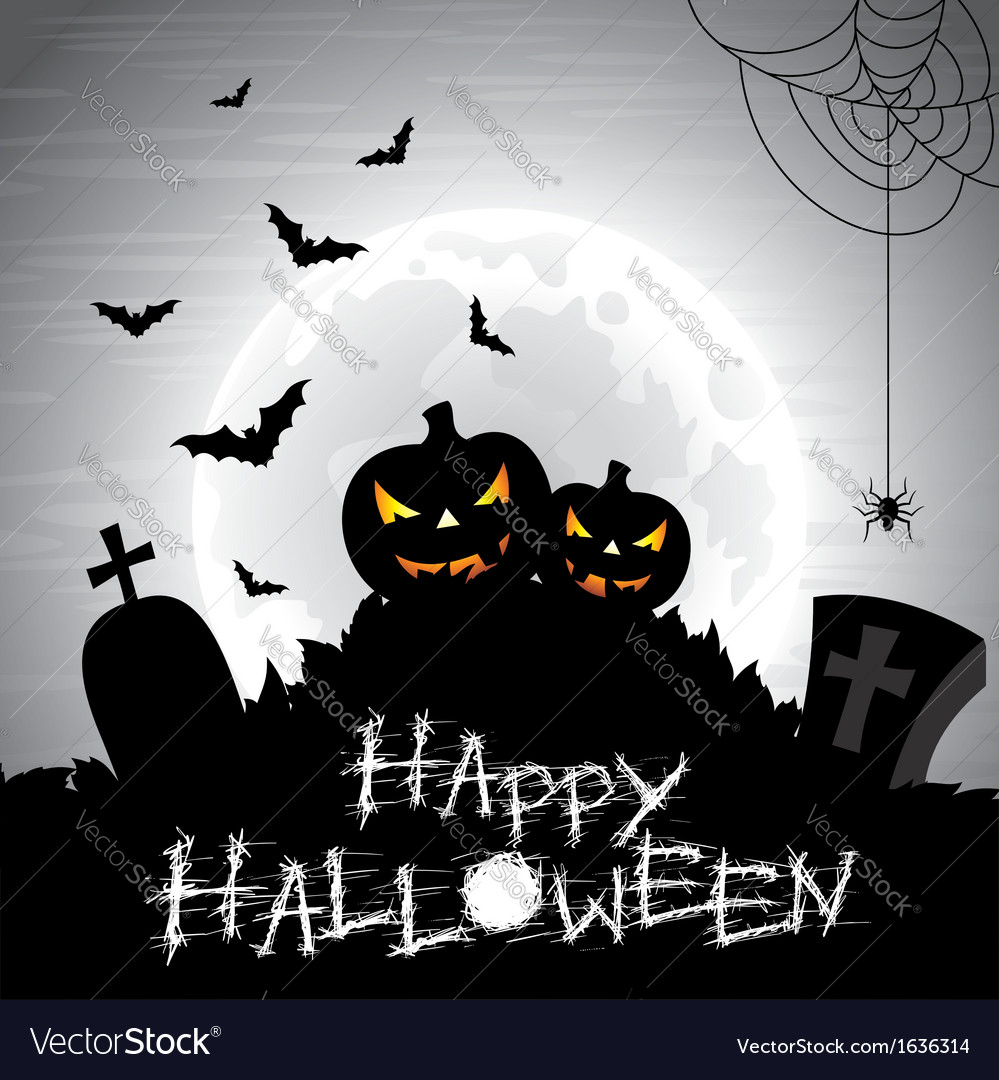 On a Halloween theme on a moon