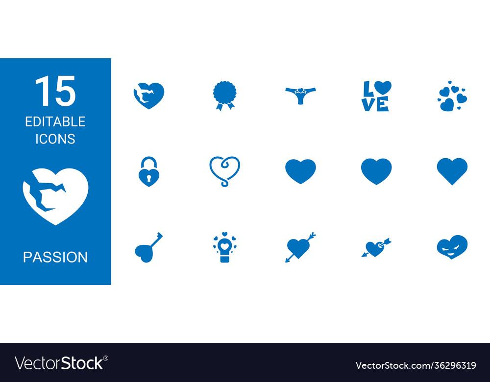 15 passion icons