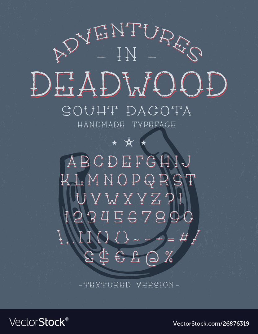 Font adventures in deadwood