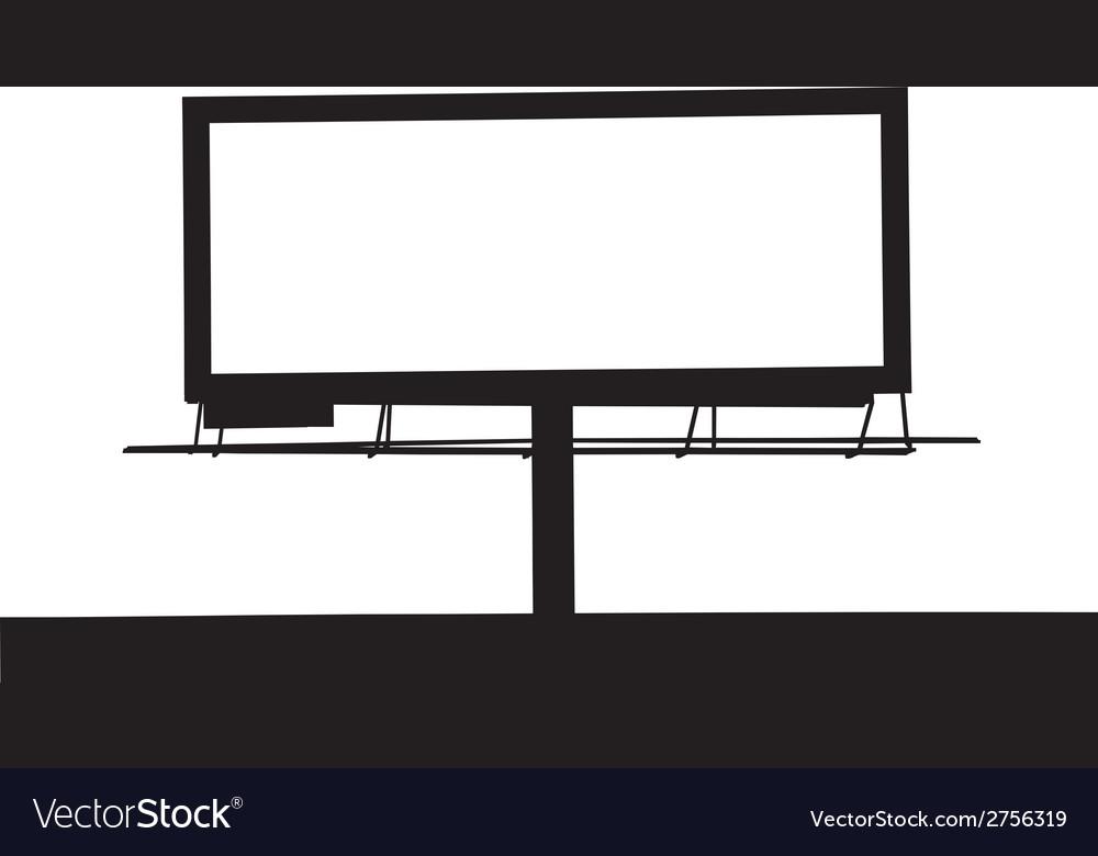 Large Billboard MG 0234 vector image