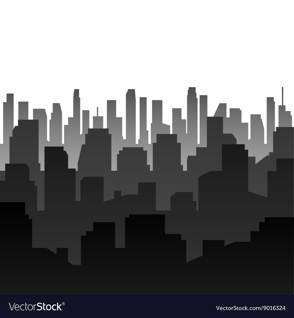 Background Silhouette of the city