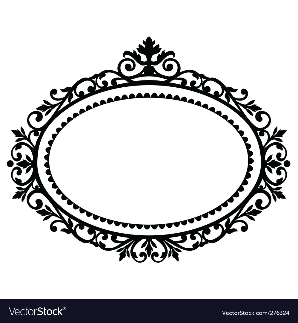 Decorative frame Royalty Free Vector Image - VectorStock