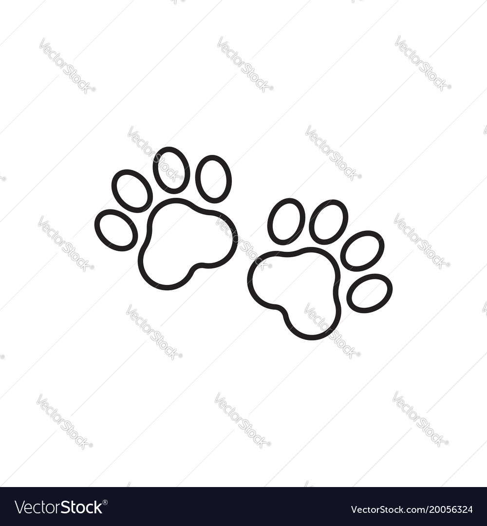 how to get a cats paw print