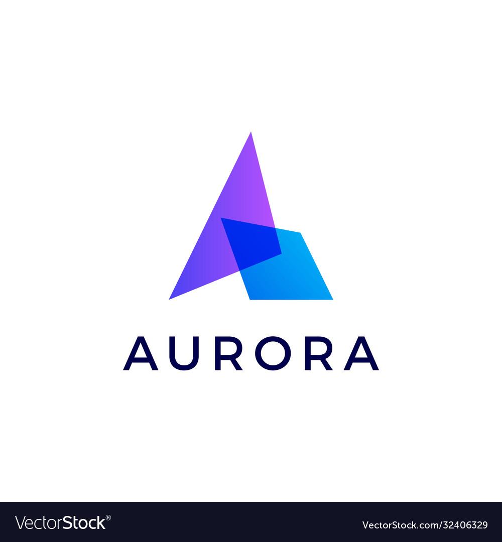 A letter gradient logo icon