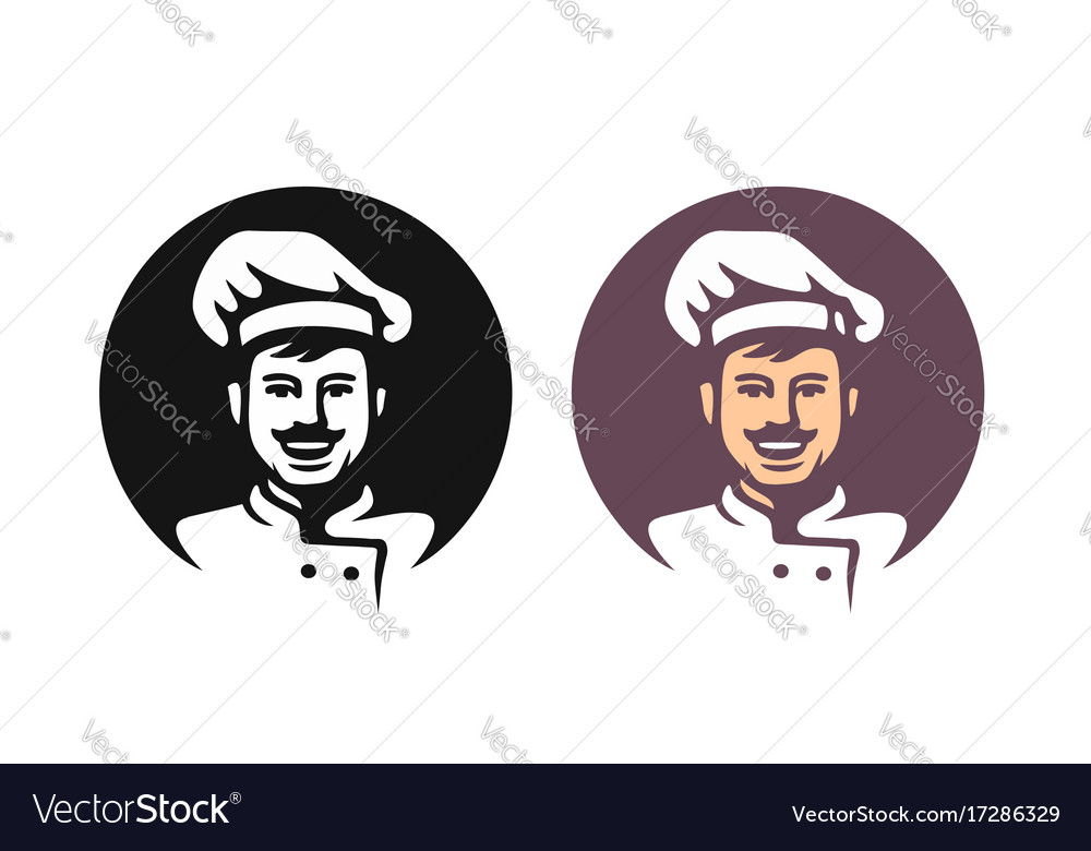 Smiling chef in hat