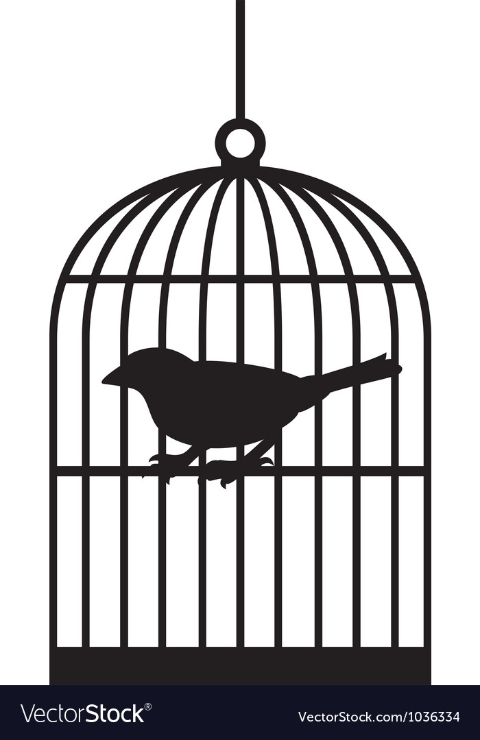 Bird Cages Royalty Free Vector Image