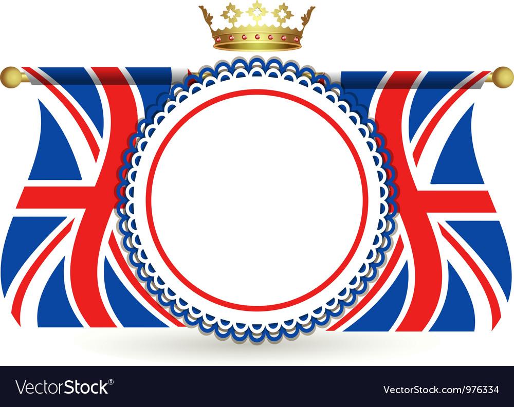 union jack flag royalty free vector image vectorstock rh vectorstock com union jack flag vector free download union jack flag vector free download