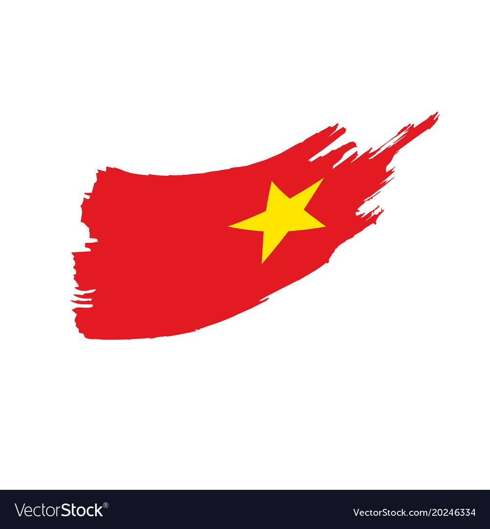 Vietnam Flag Royalty Free Vector Image Vectorstock