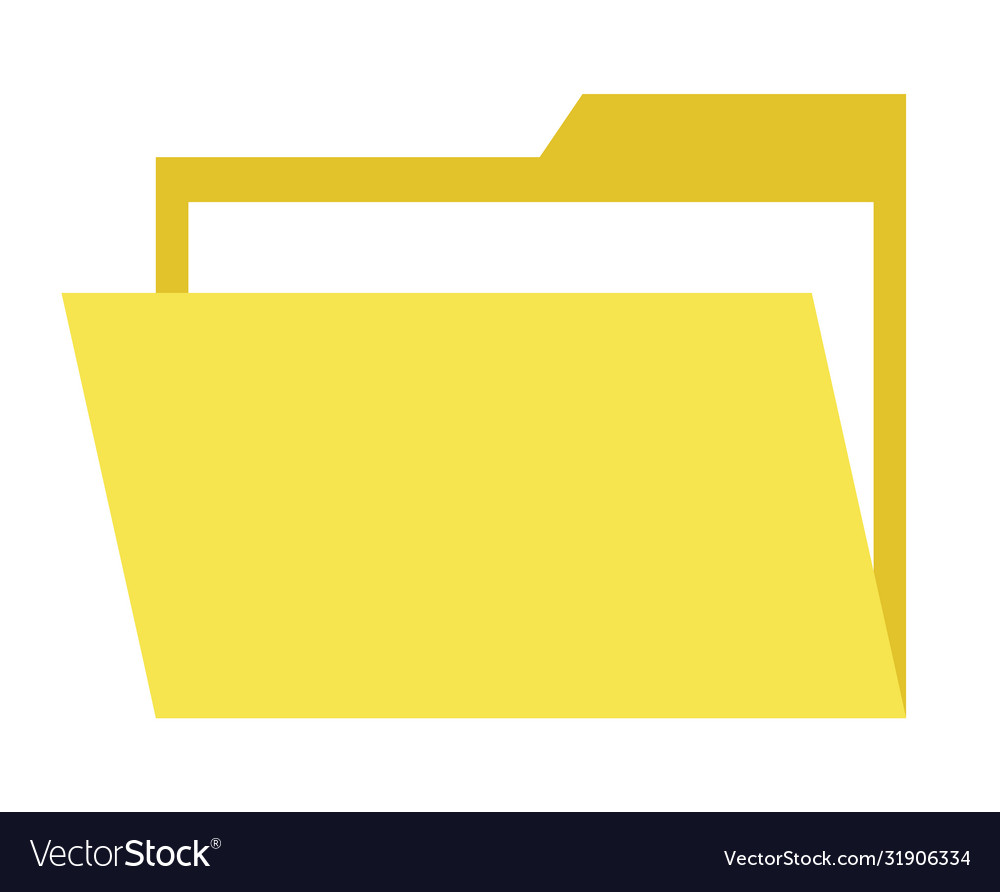 Yellow paper document online web button isolated