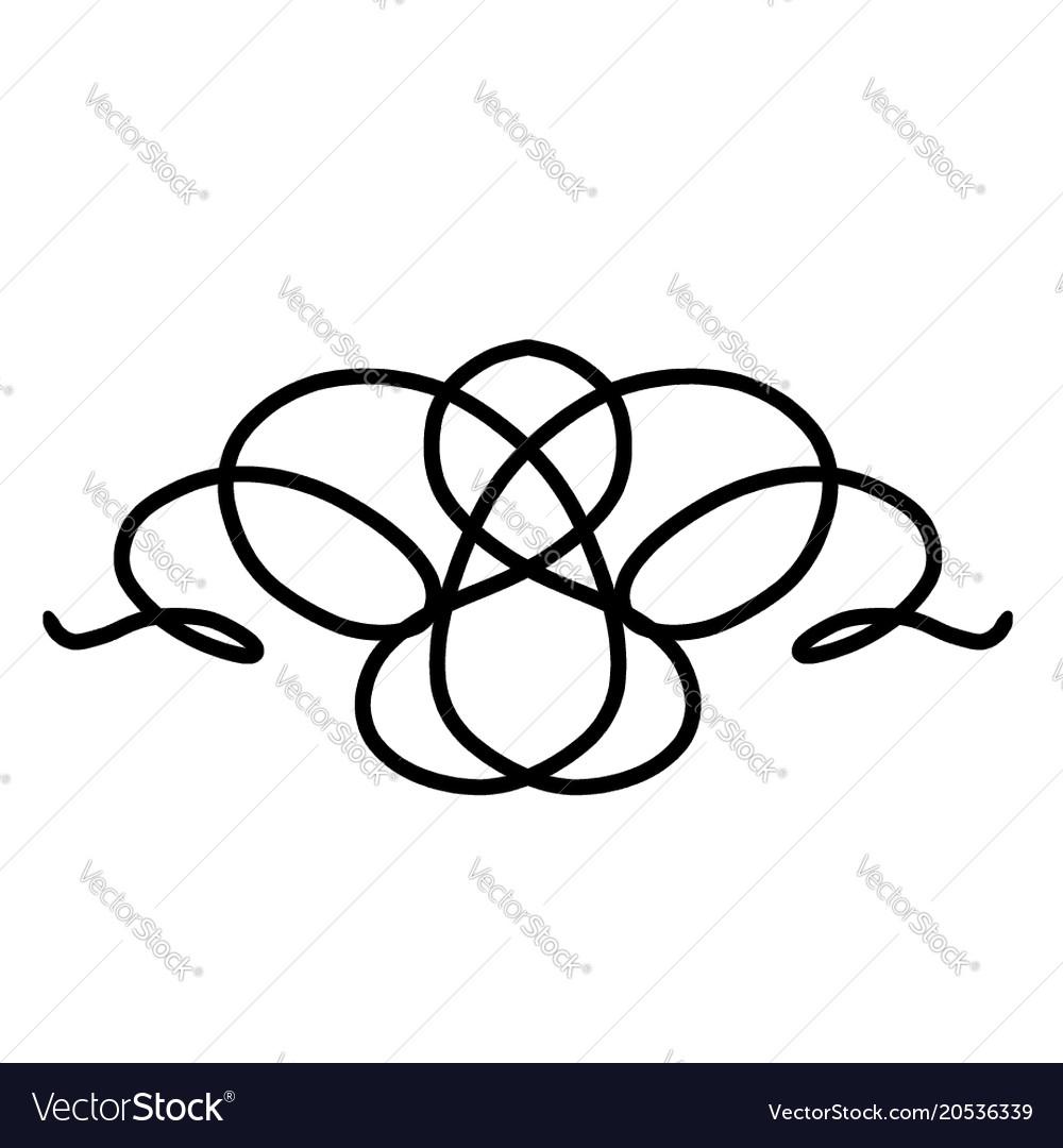 swirl ornaments royalty free vector image vectorstock rh vectorstock com ornamental frames vector ornaments vector photoshop