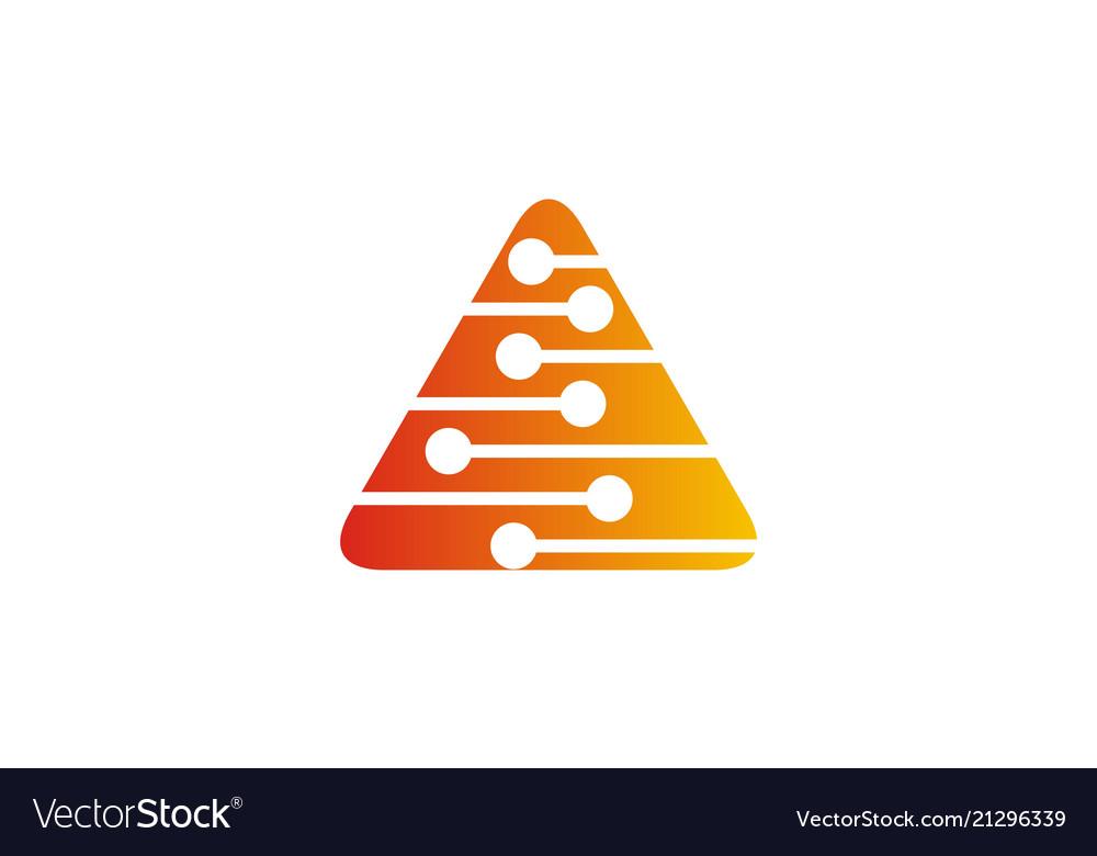 Triangle technology logo