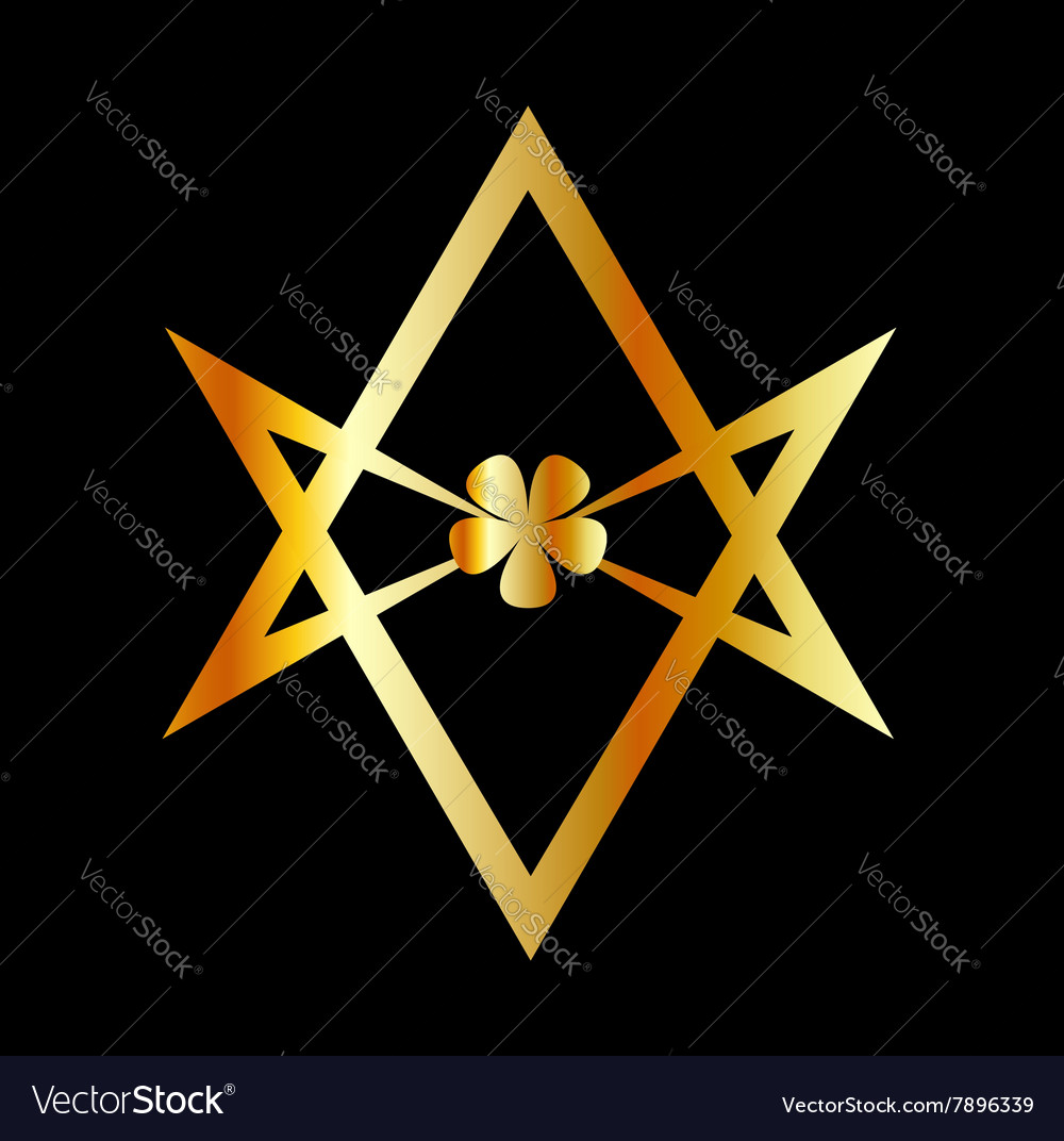 Unicursal hexagram symbol