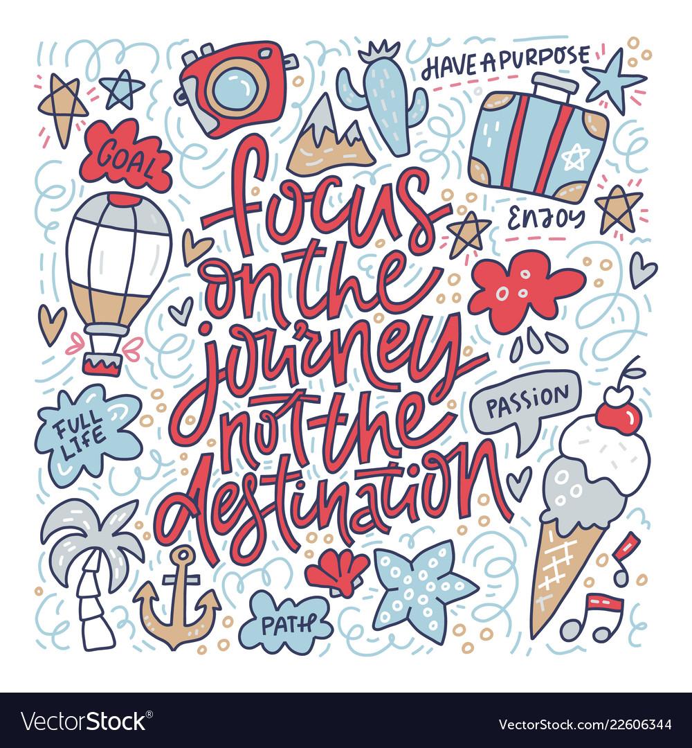 Focus on journey