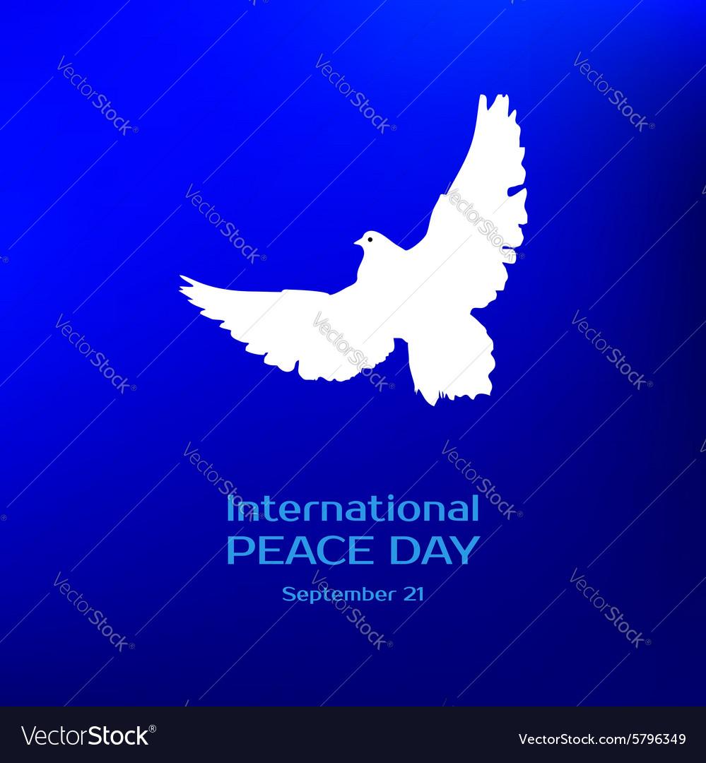 International peace day Greeting card