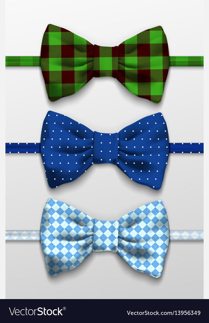 Realistic bow tie