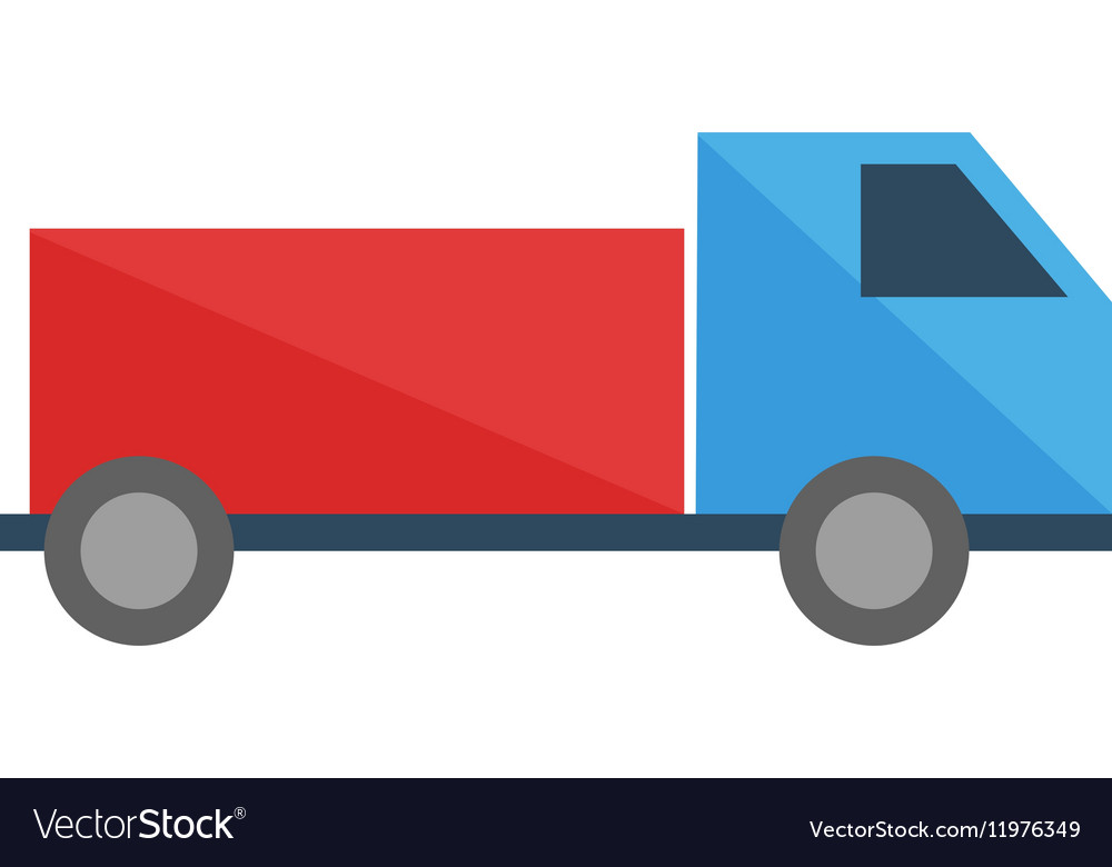 Toy truck transport game vector image