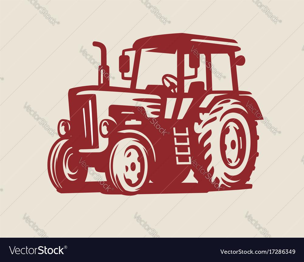 Tractor symbol