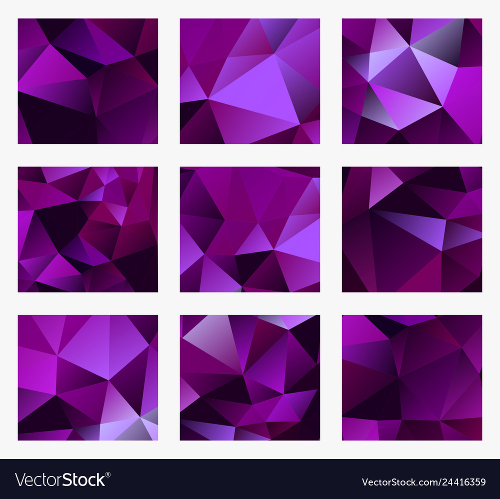 An abstract violet