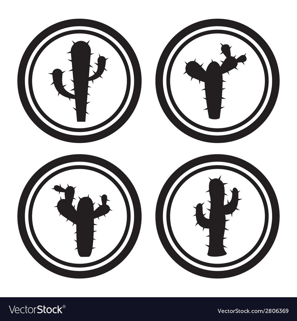 Cactus icons