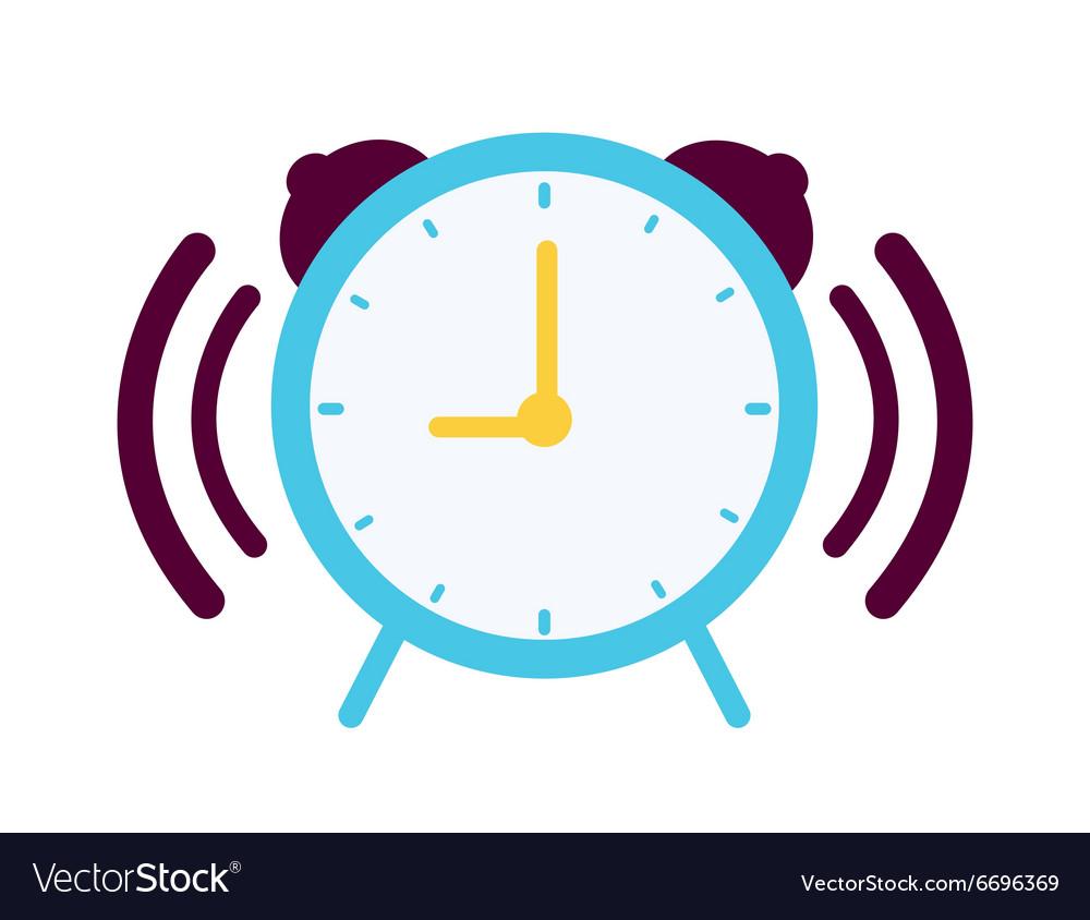 Clock with alarm sound