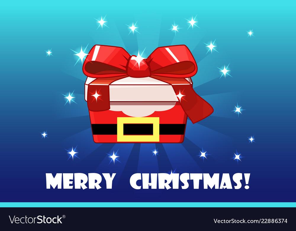 Cute christmas gift red santa claus creative