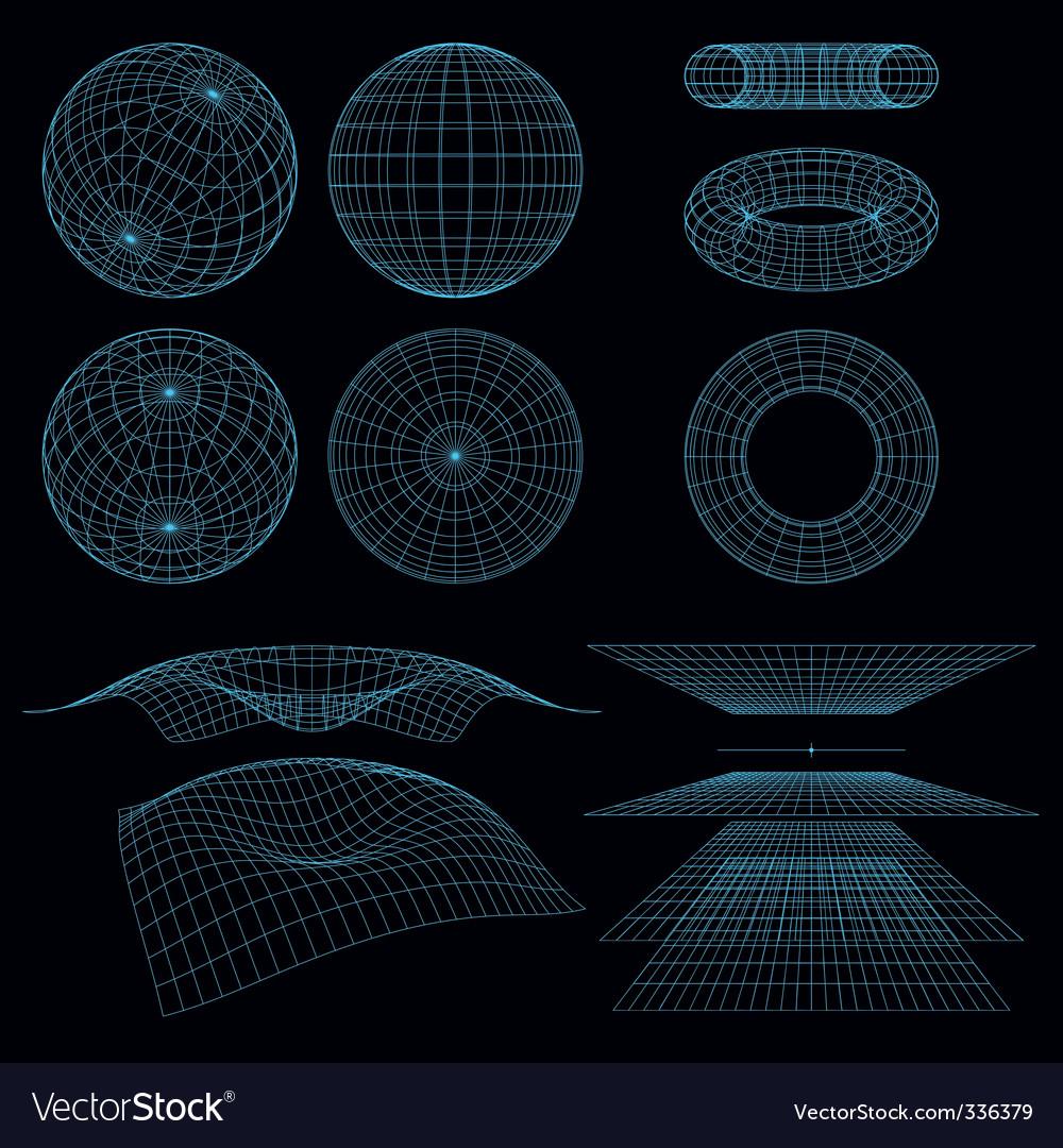 Geometry wireframe