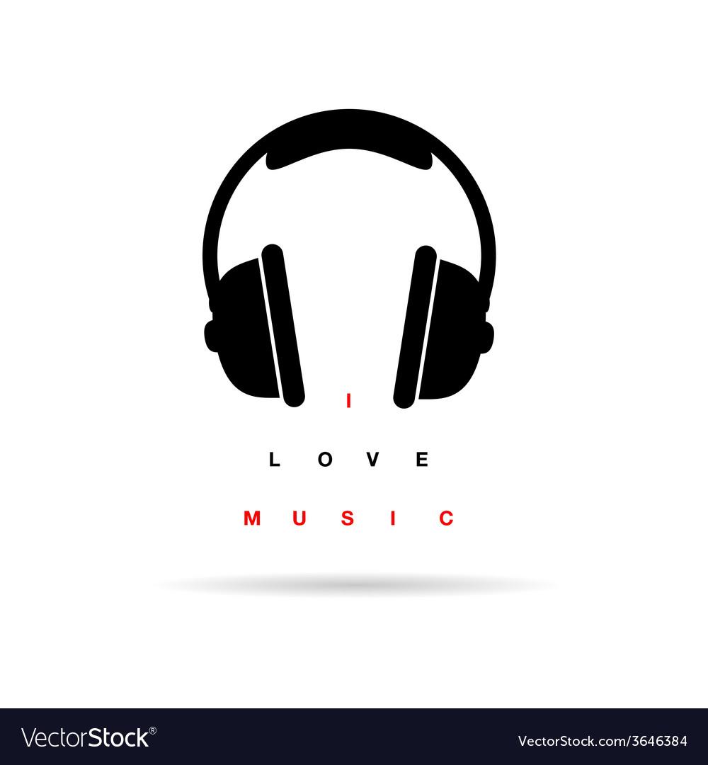 Headphones icon with message