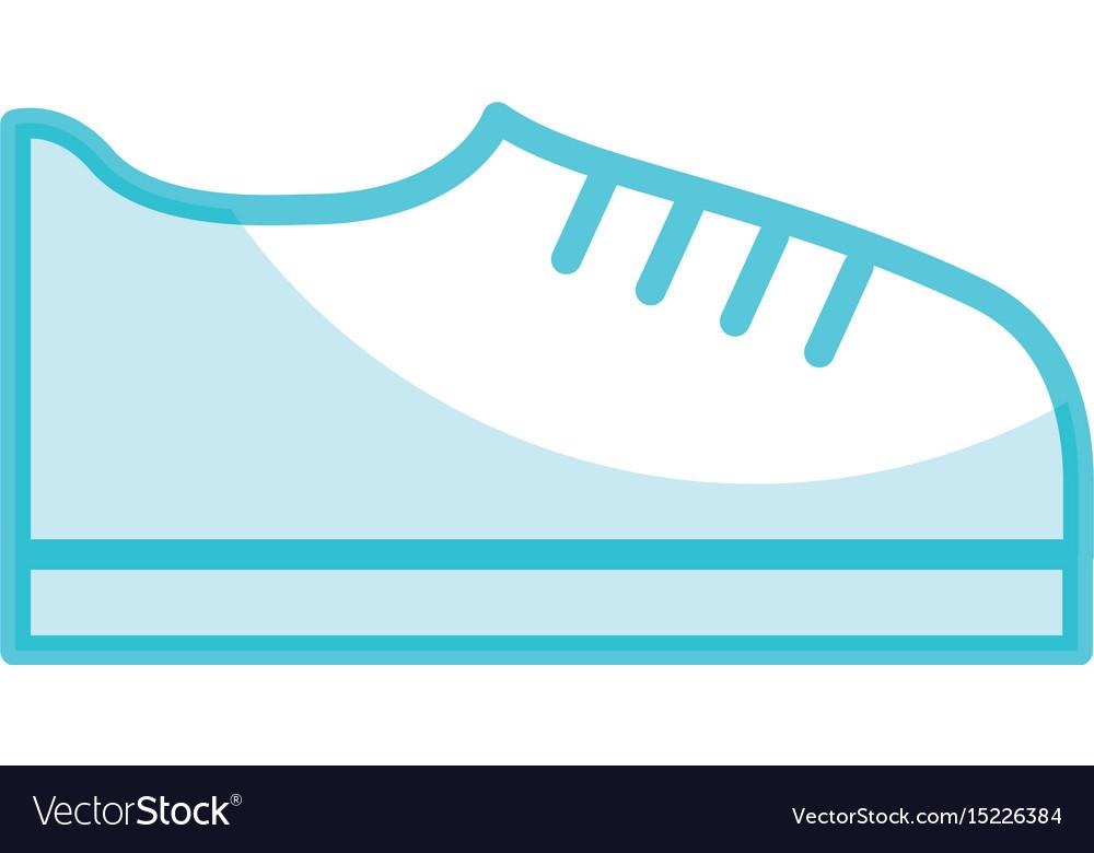 Shadow shoe cartoon