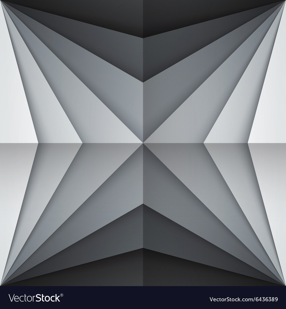 Black and gray rectangle shapes abstract