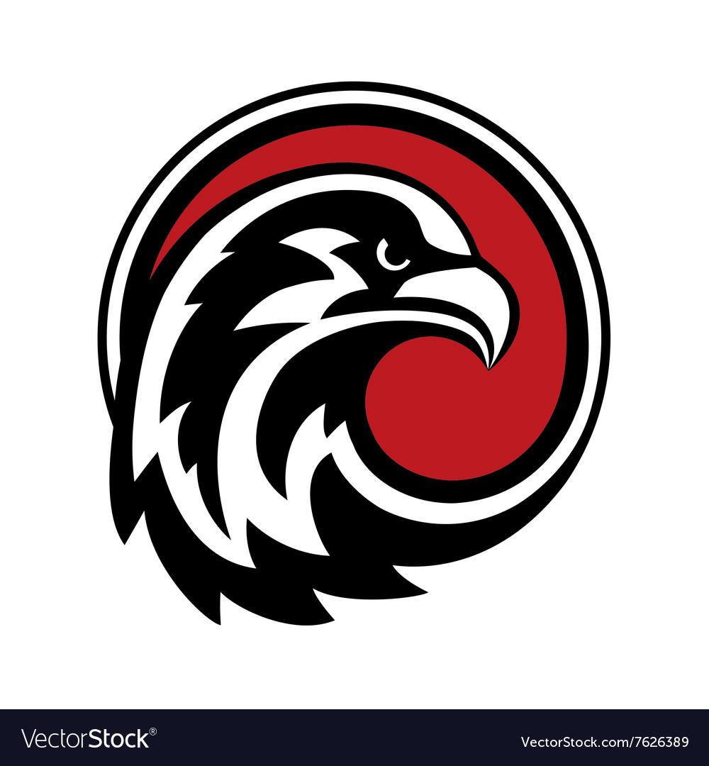 eagle logo design royalty free vector image vectorstock