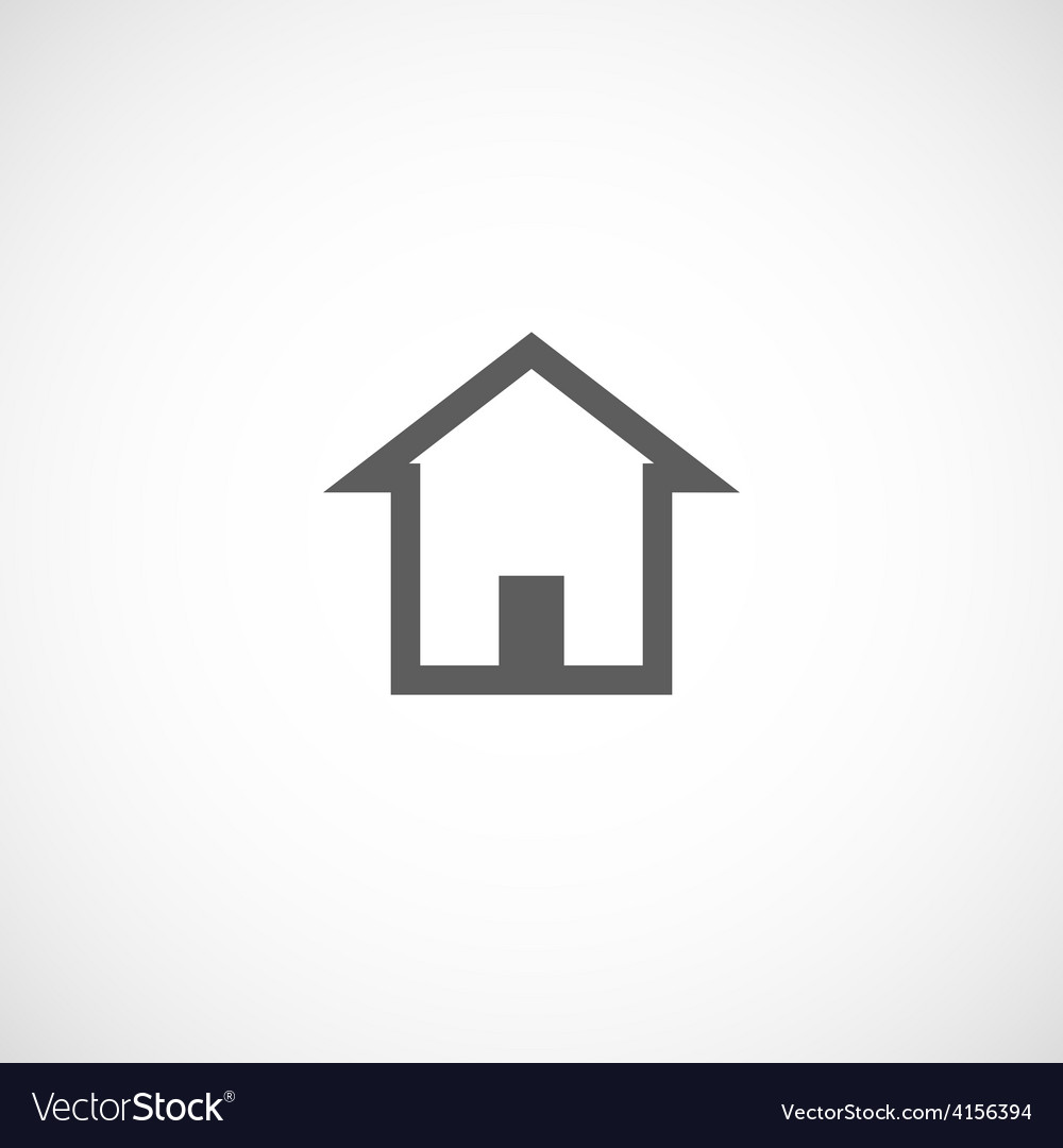 House building abstract real estate icon logo