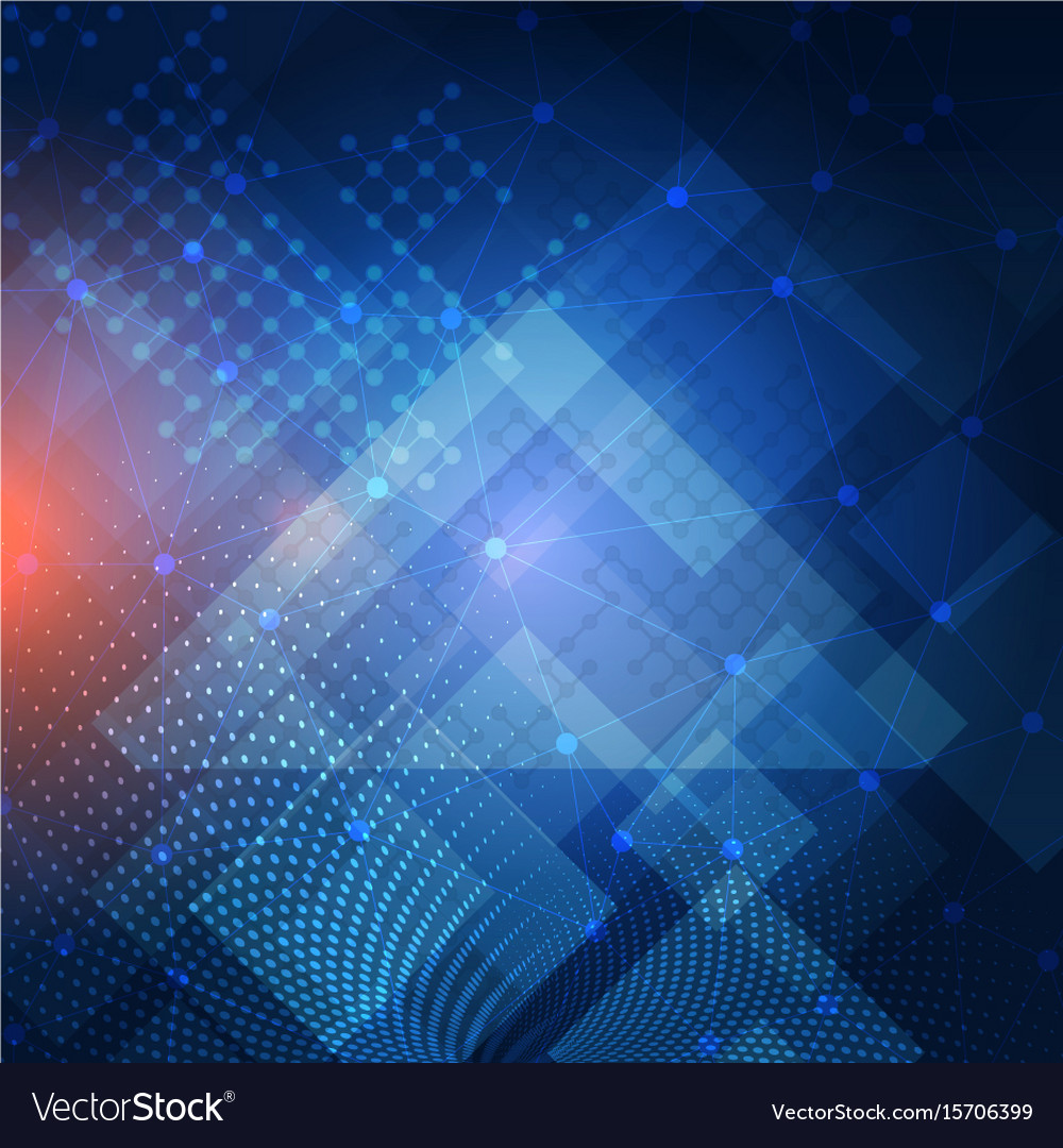 Abstract techno background Royalty Free Vector Image