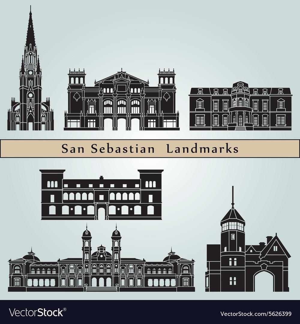San Sebastian landmarks and monuments