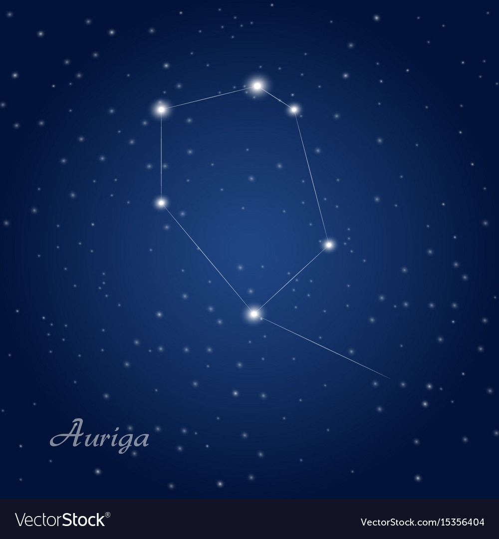 Auriga constellation at starry...