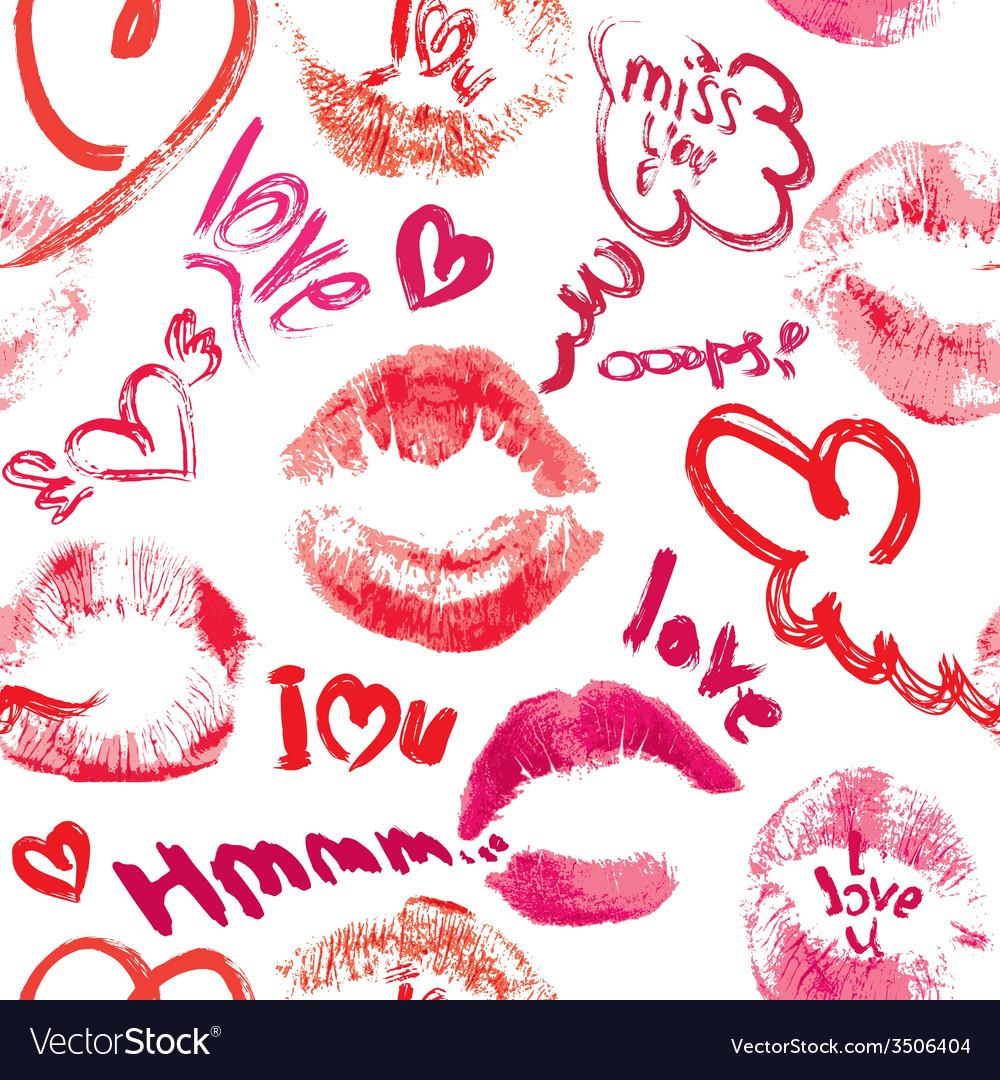 Открытка 100 поцелуев