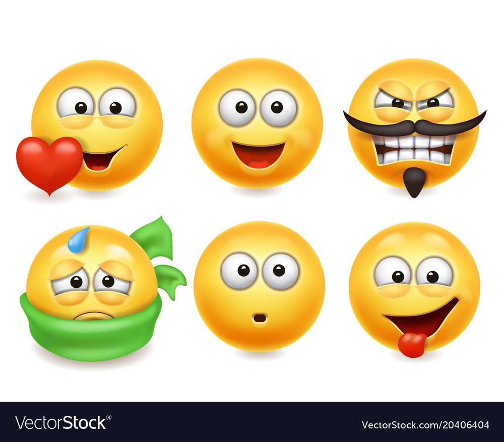 Smiley face icons funn...